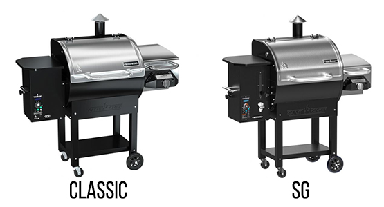 CLASSIC AND SG 24 PELLET GRILL Comparison