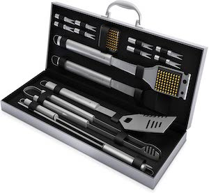 Home Complete Grill Tool Set 16 pieces - the most popular (budget)