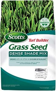 Scotts Turf Builder Grass Seed Dense Shade Mix for Tall Fescue Lawns
