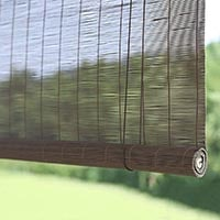classic bamboo roll up blinds for privacy