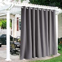 porch outdoor curtains for privacy