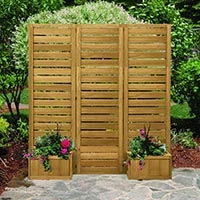 outdoor privacy screen panel